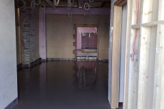 Liquid Screed at Tythes Barn Abergavenny